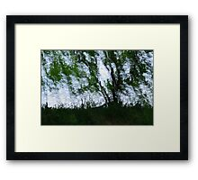 Painterly Landscape Framed Print