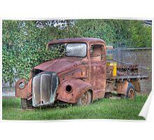 Vintage Truck, Sofala, NSW, Australia Poster