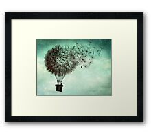 The business men's goodbye Framed Print