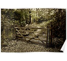 The Woodland Gate Poster