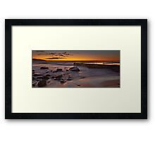 Curl Curl Baths Framed Print