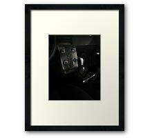 VOLVO C30 R-Design Control Console  Framed Print