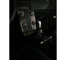 VOLVO C30 R-Design Control Console  Photographic Print