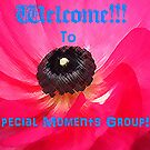 Welcome to special moments banner by the57man