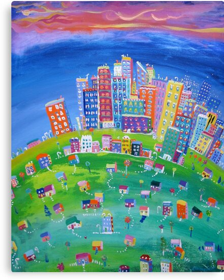 My town by Kerry  Thompson