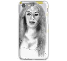 Beyonce at the Grammys Drawing iPhone Case/Skin