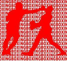 Joe Frazier vs Muhammad Ali Jab Red  by yin888