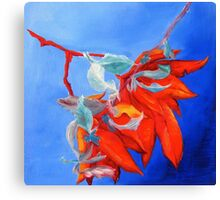 Rhododendron Study Canvas Print