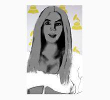 Photoshopped Drawing of Beyonce Unisex T-Shirt