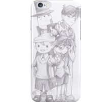 Case Closed x Professor Layton iPhone Case/Skin