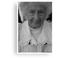 The Little Old Lady Canvas Print