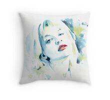 Courtney Love Throw Pillow