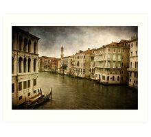 Sentimental Memories - Venice Art Print
