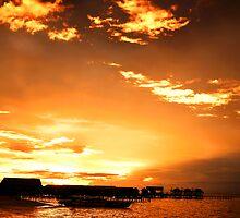 Mabul Sunset by Rasfan  Abu Kassim