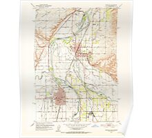 USGS Topo Map Idaho Payette 237581 1951 24000 Poster