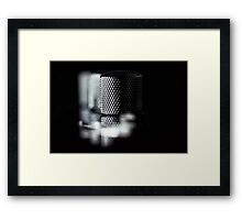 Bouncing Bass.... (color) Framed Print