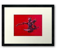 Daedric from Skyrim Framed Print