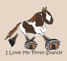 I Love My Standardbred Pinto by Diana-Lee Saville