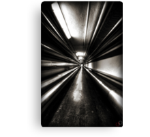 Brewery Tunnel Canvas Print