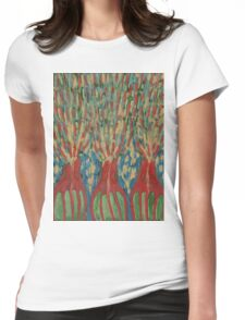 In Reversal Womens Fitted T-Shirt