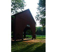 Northwest Park- Barn Pavilion  Photographic Print