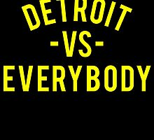 Detroit VS Everybody | Yellow by OGedits