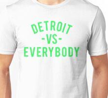 Detroit VS Everybody | Green Unisex T-Shirt