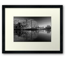 Lune Valley 03 - Crook o' Lune, Lancashire Framed Print