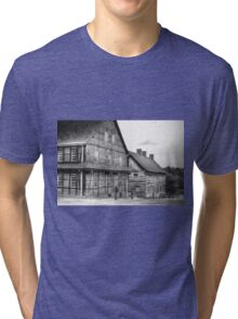 Down The Street In Old Salem Tri-blend T-Shirt