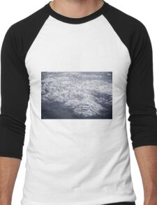 Sierra Snowy Mountains Men's Baseball ¾ T-Shirt
