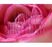happy birthday (for lensbaby) Photographic Print