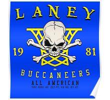 Laney Buccaneers  Poster