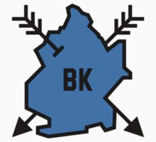 Brooklyn Hipster [Blue] Kids Clothes