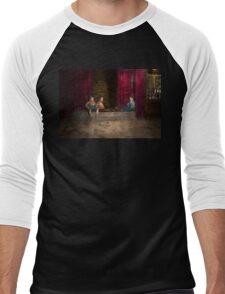 Kids - Boston MA - Jest hanging around 1909 Men's Baseball ¾ T-Shirt