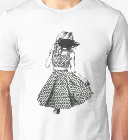 Black Scribble Unisex T-Shirt