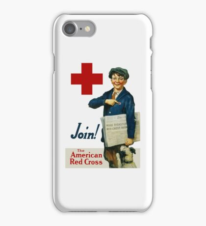 Join The American Red Cross iPhone Case/Skin