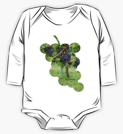 Grapevines At Harvest One Piece - Long Sleeve