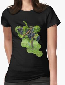 Grapevines At Harvest Womens Fitted T-Shirt