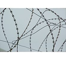 Wire at Robben Island (Color) Photographic Print
