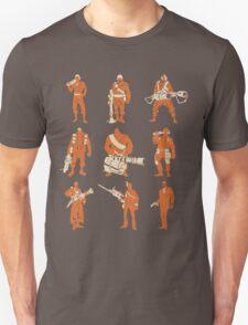 All Classes - Minimalistic TF2 Classes T-Shirt