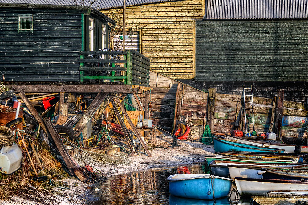 The Repair Yard by timmburgess