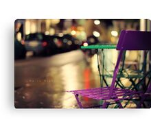 _Rainy Night_ Canvas Print