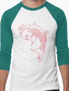 Koi Fish Men's Baseball ¾ T-Shirt
