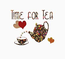Time for Tea Tee Womens Fitted T-Shirt