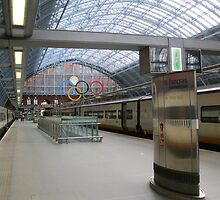 St Pancras Station,  London by stevenw888