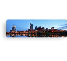 Nashville Shoreline Canvas Print