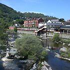River Dee. Llangollen, Wales by stevenw888