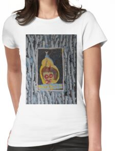 Doughnuts - Abstract Outsider Art Womens Fitted T-Shirt