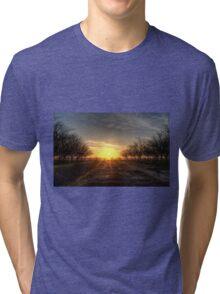 Yuba Country Sunset Tri-blend T-Shirt