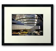 The Solomon R. Guggenheim Museum Framed Print